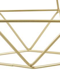 Lampada a sospensione Kyle, Baldacchino: metallo spazzolato, Paralume: metallo spazzolato, Dorato, Larg. 80 x Alt. 100 cm
