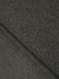 Modulares Ecksofa Lennon in Anthrazit, Bezug: Polyester Der hochwertige, Gestell: Massives Kiefernholz, Spe, Füße: Kunststoff, Webstoff Anthrazit, B 238 x T 180 cm
