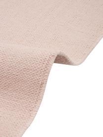 Ręcznie tkany dywan z bawełny Agneta, 100% bawełna, Blady różowy, S 120 x D 180 cm (Rozmiar S)