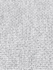 Ecksofa Saint (3-Sitzer) in Hellgrau mit Eichenholz-Füßen, Bezug: Polyester Der hochwertige, Gestell: Massives Kiefernholz, Spa, Webstoff Hellgrau, B 243 x T 220 cm