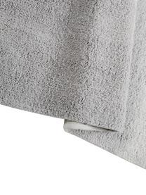 Tappeto in cotone lavabile con nappine Degrade, Retro: cotone riciclato, Grigio scuro, grigio chiaro, Larg. 120 x Lung. 160 cm (taglia S)