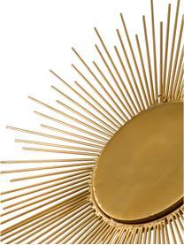 Komplet luster ściennych Sun, 3 elem., Odcienie złotego, Komplet z różnymi rozmiarami
