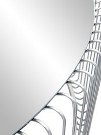 Table basse avec plateau en verreWire, 2élém., Chrome