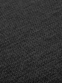 Puf z miejscem do przechowywania Cucita, Tapicerka: tkanina (poliester) Dzięk, Stelaż: lite drewno sosnowe, Nogi: metal malowany proszkowo, Antracytowy, S 75 x W 46 cm