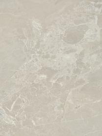 Beistelltisch Lesley in Travertin-Optik, Mitteldichte Holzfaserplatte (MDF), mit Melaminfolie überzogen, Beige, Travertin-Optik, 45 x 50 cm