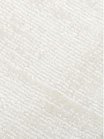 Runder Viskoseteppich Jane in Elfenbeinfarben, handgewebt, Flor: 100% Viskose, Elfenbeinfarben, Ø 150 cm (Größe M)