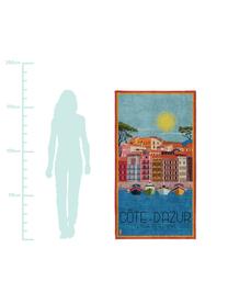 Telo mare Riviera, Multicolore, Larg. 90 x Lung. 170 cm