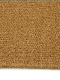 Ręcznie tkany dywan z wełny z frędzlami Rainbow, Brunatnożółty, S 200 x D 300 cm (Rozmiar L)
