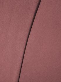 Samt-Cocktailsessel Aya in Rosa, Bezug: Samt (Polyester) 30.000 S, Füße: Birkenholz, lackiert, Teddy Cremeweiß, B 73 x T 64 cm