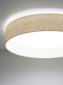 LED-Deckenleuchte Helen Nature, Diffusorscheibe: Kunststoff, Beige, Ø 52 x H 11 cm