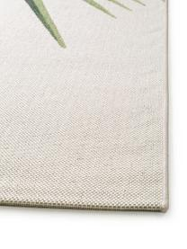 Dywan wewnętrzny/zewnętrzny Capri Palm, 100% polipropylen, Zielony, beżowy, S 80 x D 150 cm (Rozmiar XS)
