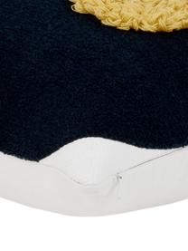 Housse de coussin 45x45 moderne Allard, Endroit: multicolore Envers: blanc