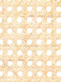 Polsterstuhl Spike mit Wiener Geflecht, Rückenlehne: Rattan, Bezug: 100% Polyester 100.000 Sc, Rahmen: Birkenholz, massiv, lacki, Beine: Stahl, pulverbeschichtet, Rosa, Schwarz, Beige, B 46 x T 58 cm