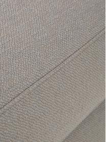 Sofa-Hocker Tribeca in Dunkelgrau, Bezug: Polyester Der hochwertige, Gestell: Massives Kiefernholz, Füße: Massives Buchenholz, lack, Webstoff Dunkelgrau, 80 x 40 cm