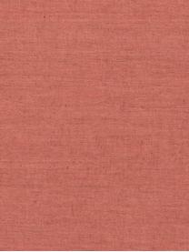 Runner in lino marrone arancio Sven, Lino, Marrone arancio, Larg. 50 x Lung. 150 cm