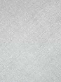 Effen fluwelen kussenhoes Dana in lichtgrijs, 100% katoen fluweel, Lichtgrijs, 40 x 40 cm