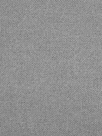 Silla con reposabrazos Mitzie, Tapizado: poliéster Alta resistenci, Patas: metal pintado, Tejido gris claro, patas negro, An 57 x F 59 cm