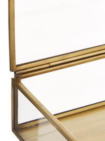 Portagioie Janni, Ottone, vetro, Ottone, Larg. 22 x Prof. 10 cm