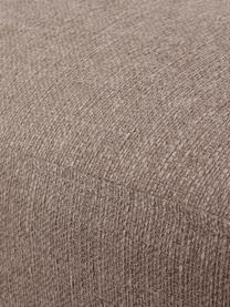 Tabouret de canapé taupe avec pieds en métal Moby, Taupe
