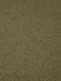 Divano componibile 4 posti in tessuto verde Lennon, Rivestimento: 100% poliestere 35.000 ci, Struttura: legno di pino massiccio, , Piedini: materiale sintetico, Tessuto verde, Larg. 326 x Prof. 119 cm