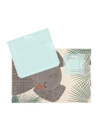 Teppich Junko, Polypropylen, Beige, Grün, Grau, 120 x 170 cm