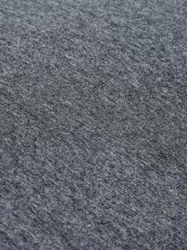 Jersey-Wendebettwäsche Casual Beauty mit Fischgrätband, Webart: Jersey Jersey ist ein kli, Anthrazit, Hellgrau, 135 x 200 cm + 1 Kissen 80 x 80 cm