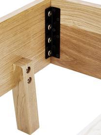 Struttura letto in legno senza testiera Tammy, Struttura: compensato con rivestimen, Piedini: legno di quercia massicci, Legno di quercia, 180 x 200 cm