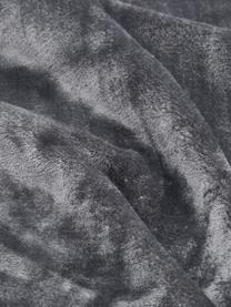 Kuscheldecke Doudou in Anthrazit, 100% Polyester, Anthrazit, 130 x 160 cm