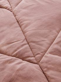 Spielmatte Keaton, Bezug: 100% 100% Biobaumwolle, Rosa, 100 x 165 cm