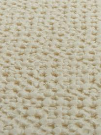 Copriletto in cotone color crema Vigo, 100% cotone, Crema, Larg. 220 x Lung. 240 cm (per letti da 160 x 200)