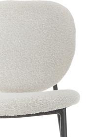 Polsterstühle Ulrica in Cremeweiß, 2 Stück, Bezug: 100% Polyester Der Bezug , Beine: Metall, pulverbeschichtet, Cremeweiß, B 47 x T 61 cm