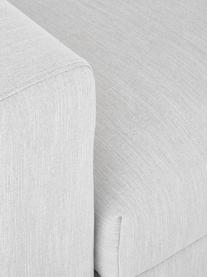 Canapé 3 places gris clair Balmira, Tissu gris clair
