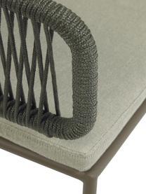 Gartenstuhl Nadin, Gestell: Metall, verzinkt und lack, Bezug: Polyester, Grün, B 58 x T 48 cm