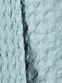 Canovaccio a nido d'ape Wanda 2 pz, Cotone organico, Azzurro, Larg. 50 x Lung. 70 cm