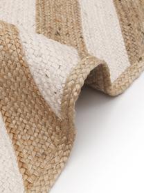 Handgefertigter Jute-Teppich Eckes, 100% Jute, Beige, B 200 x L 300 cm (Größe L)