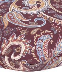Baumwoll-Kissenbezüge Liana in Bordeaux mit Paisley-Muster, 2 Stück, Webart: Renforcé Fadendichte 144 , Bordeaux, 40 x 80 cm