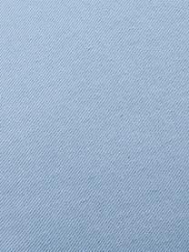 Cuscino a forma di conchiglia Shell, Retro: 100% cotone, Azzurro, Larg. 28 x Lung. 30 cm