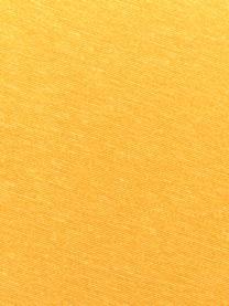 Nakładka na ławkę Panama, 50% bawełna, 45% poliester, 5% inne włókna, Żółty, S 48 x D 120 cm