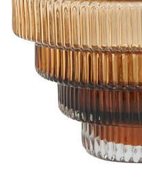 Wazon ze szkła Rilla, Szkło, Odcienie bursztynowego, Ø 16 x W 16 cm