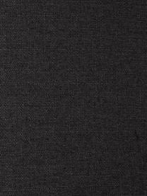 Divano angolare in tessuto grigio scuro Fluente, Rivestimento: 100% poliestere Il rivest, Struttura: legno di pino massiccio, Struttura: pino massiccio, Piedini: metallo verniciato a polv, Tessuto grigio scuro, Larg. 221 x Prof. 200 cm