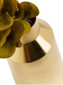 Vaso in metallo Carlyn, Metallo rivestito, Ottonato, Ø 15 x Alt. 26 cm
