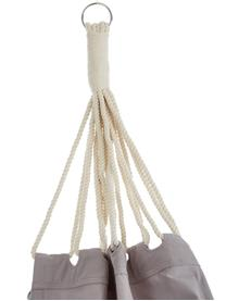 Hängematte Holly aus Baumwolle, Baumwolle, Grau, gebrochenes Weiß, B 90 x L 250