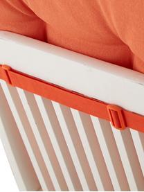 Nakładka na krzesło z oparciem Panama, Tapicerka: 50% bawełna, 45% polieste, Pomarańczowy, S 50 x D 123 cm