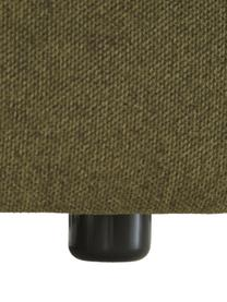 Modulares Ecksofa Lennon in Grün, Bezug: Polyester Der hochwertige, Gestell: Massives Kiefernholz, Spe, Füße: Kunststoff, Webstoff Grün, B 238 x T 180 cm