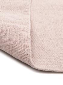 Dünner Baumwollteppich Agneta, handgewebt, 100% Baumwolle, Rosa, B 120 x L 180 cm (Größe S)
