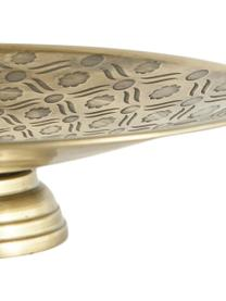 Patera z metalu Theo, Metal lakierowany, Odcienie mosiądzu, Ø 26 x W 7 cm