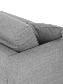 Divano letto 2 posti in tessuto grigio Maria, Rivestimento: 40% cotone, 20% lino, 20%, Piedini: materiale sintetico, Tessuto grigio chiaro, Larg. 180 x Prof. 102 cm