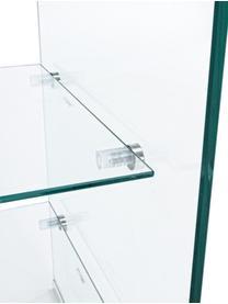 Table de chevet en verre Glasse, Transparent