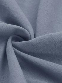Poszewka na poduszkę z lnu z efektem sprania Nature, 2 szt., Niebieski, S 40 x D 80 cm