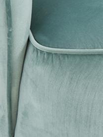 Samt-Cocktailsessel Olivia in Salbeifarben, Bezug: Samt (Polyester) Der hoch, Samt Salbeifarben, B 70 x T 70 cm